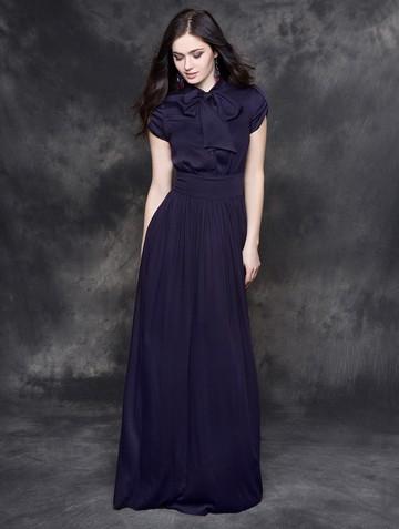 Платье listin, цвет темно-фиолетовый