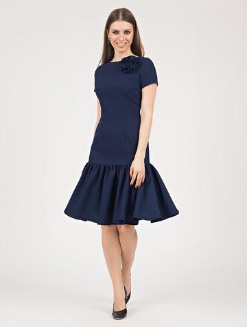 Платье vayolet, цвет темно-синий