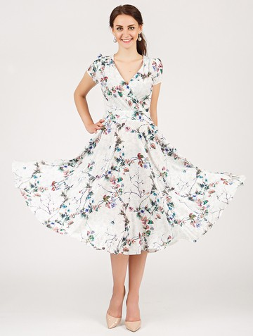 Платье ruta, цвет молочно-зеленый