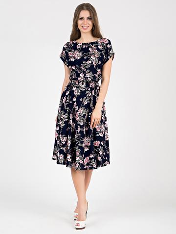 Платье lanty, цвет чернильно-розовый