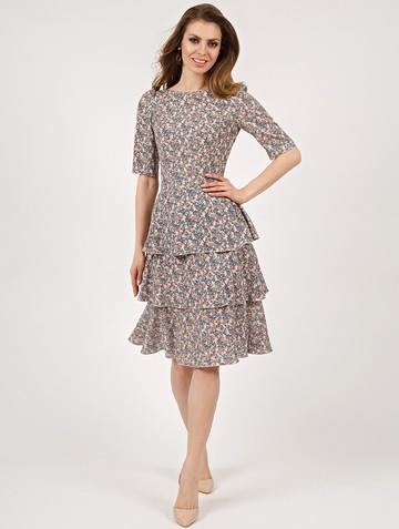Платье lionel, цвет розово-бирюзовый