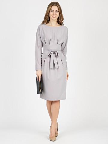Платье rozaura, цвет серый