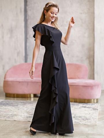Платье dafina, цвет черный