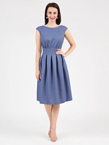 Платье ravena, цвет голубой