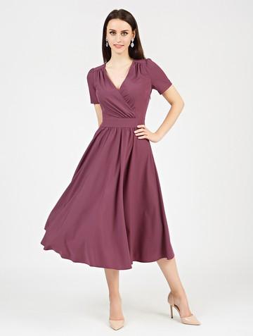 Платье atery, цвет лилово-бордовый