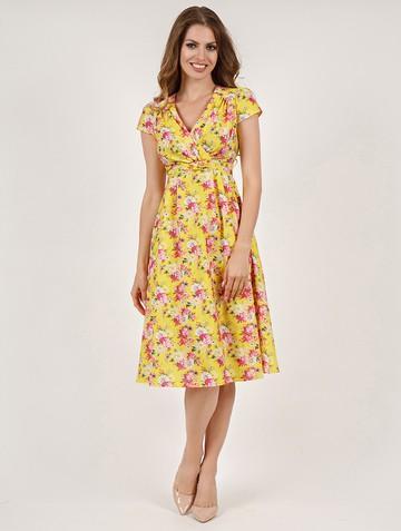 Платье paulina, цвет желтый