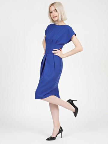 Платье rodika, цвет ультрамарин