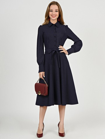 Платье melania, цвет темно-синий