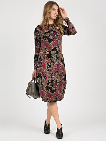 Платье jetem, цвет черно-малиновый