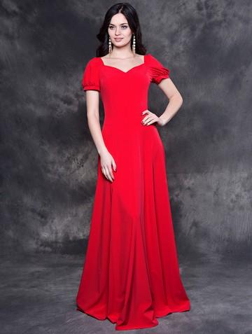 Платье lesly, цвет красный