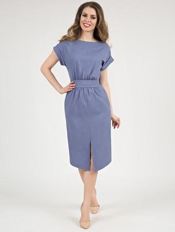Платье remmy, цвет серо-голубой