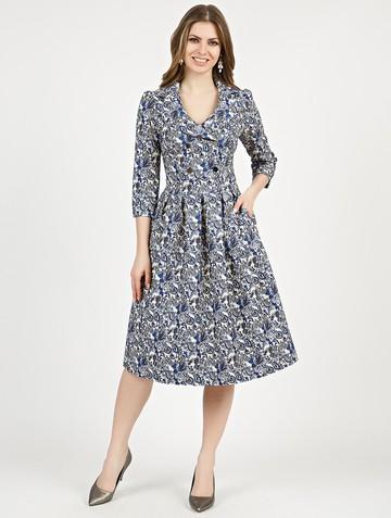 Платье varia, цвет синий