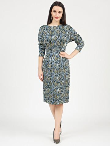 Платье nisetty, цвет голубой