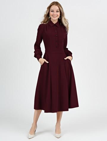 Платье alsu, цвет бордовый
