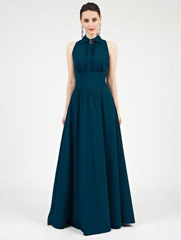 Платье dinia, цвет бирюзово-зеленый