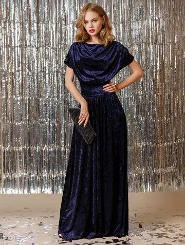 Платье irosy, цвет индиго