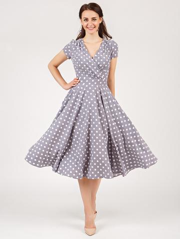 Платье ruta, цвет серо-лиловый