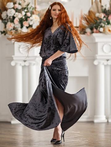 Платье irisa, цвет серый