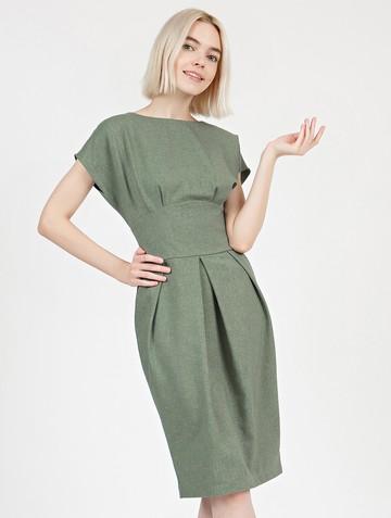Платье rodika, цвет оливковый
