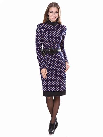 Платье starbery, цвет сине-бежевый