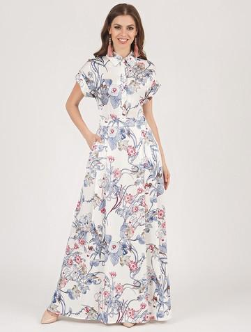 Платье rafaella, цвет молочно-серый
