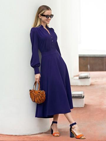 Платье liann, цвет ультрамарин
