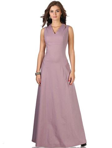Платье wassa, цвет сиреневый