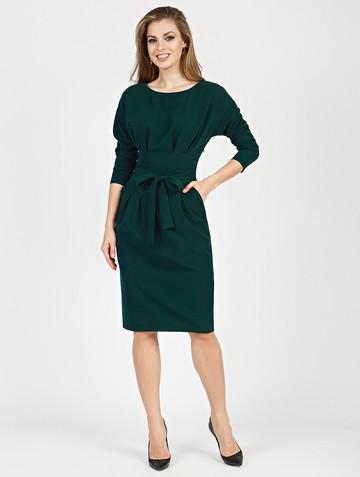 Платье rozaura, цвет темно-зеленый