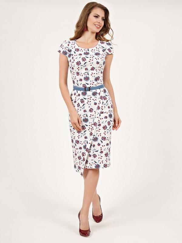 64ff0daa48a Купить Платье lou бело-красный в Москве по цене 8390.0 руб в ...