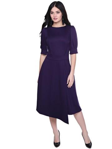 Платье elda, цвет темно-фиолетовый