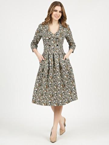Платье varia, цвет зеленый