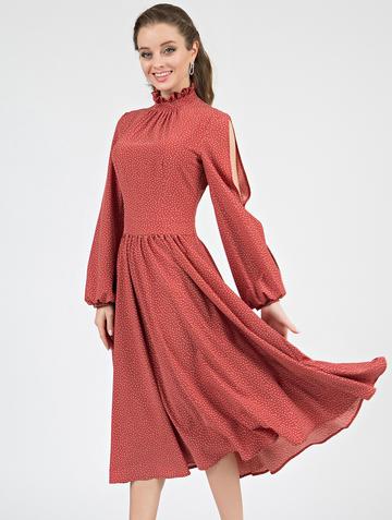 Платье slay, цвет танго