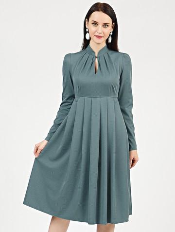 Платье efimia, цвет серо-зеленый