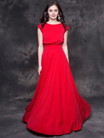 Платье kamila, цвет красный