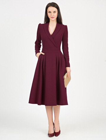 Платье storm, цвет бордовый