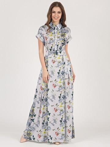 Платье rafaella, цвет серый