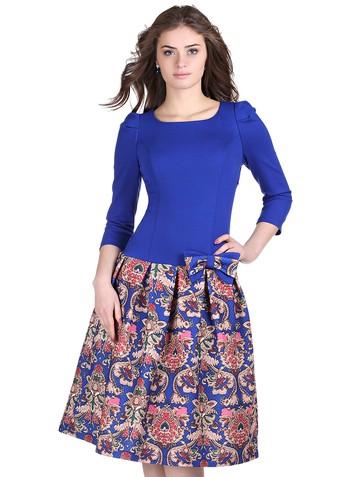 Платье lok, цвет ультрамарин