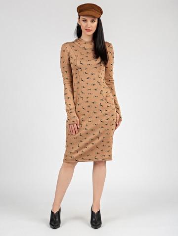Платье nixy, цвет песочный