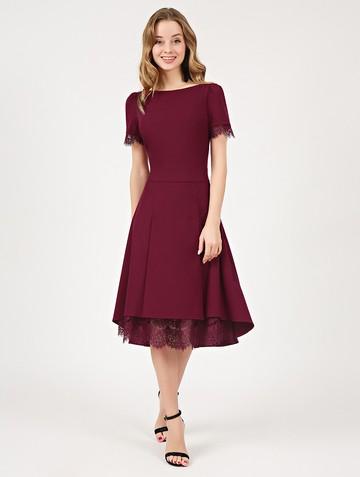 Платье melitta, цвет рубиновый