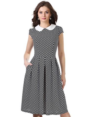 Платье lala, цвет черный