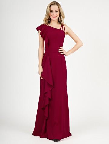 Платье dafina, цвет рубиновый
