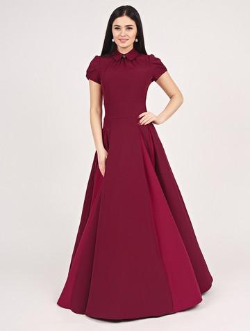 Платье bliss, цвет рубиновый