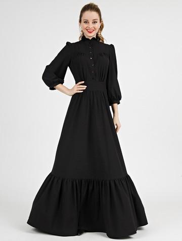Платье deyla, цвет черный