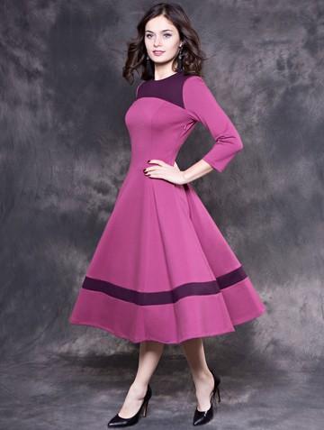 Платье breny, цвет лиловый