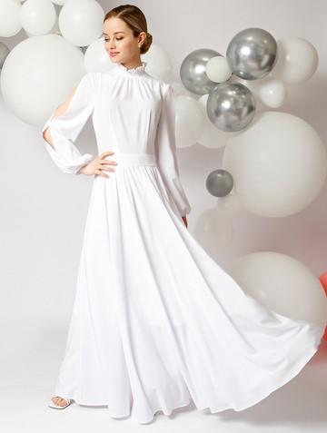 Платье deffy, цвет белый