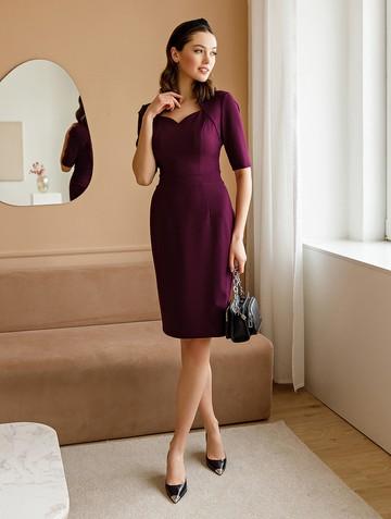 Платье tilly, цвет сливовый