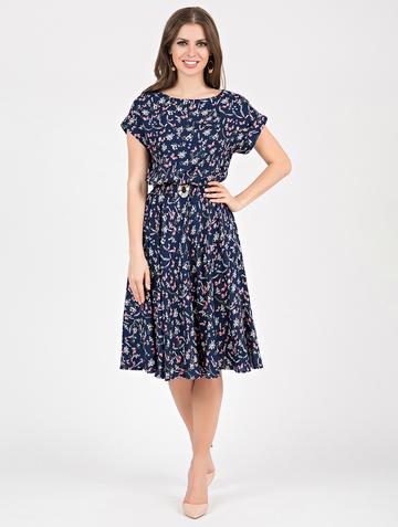 Платье lanty, цвет индиго