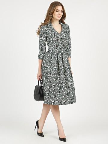 Платье varia, цвет изумрудный