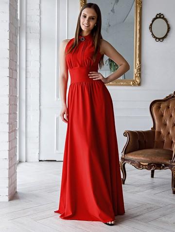 Платье dinia, цвет красный