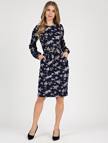 Платье varvara, цвет сине-серый